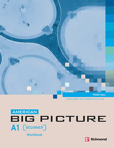 American Big Picture A1 Workbook Portada 220x298