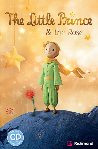Little Prince & the rose - grande